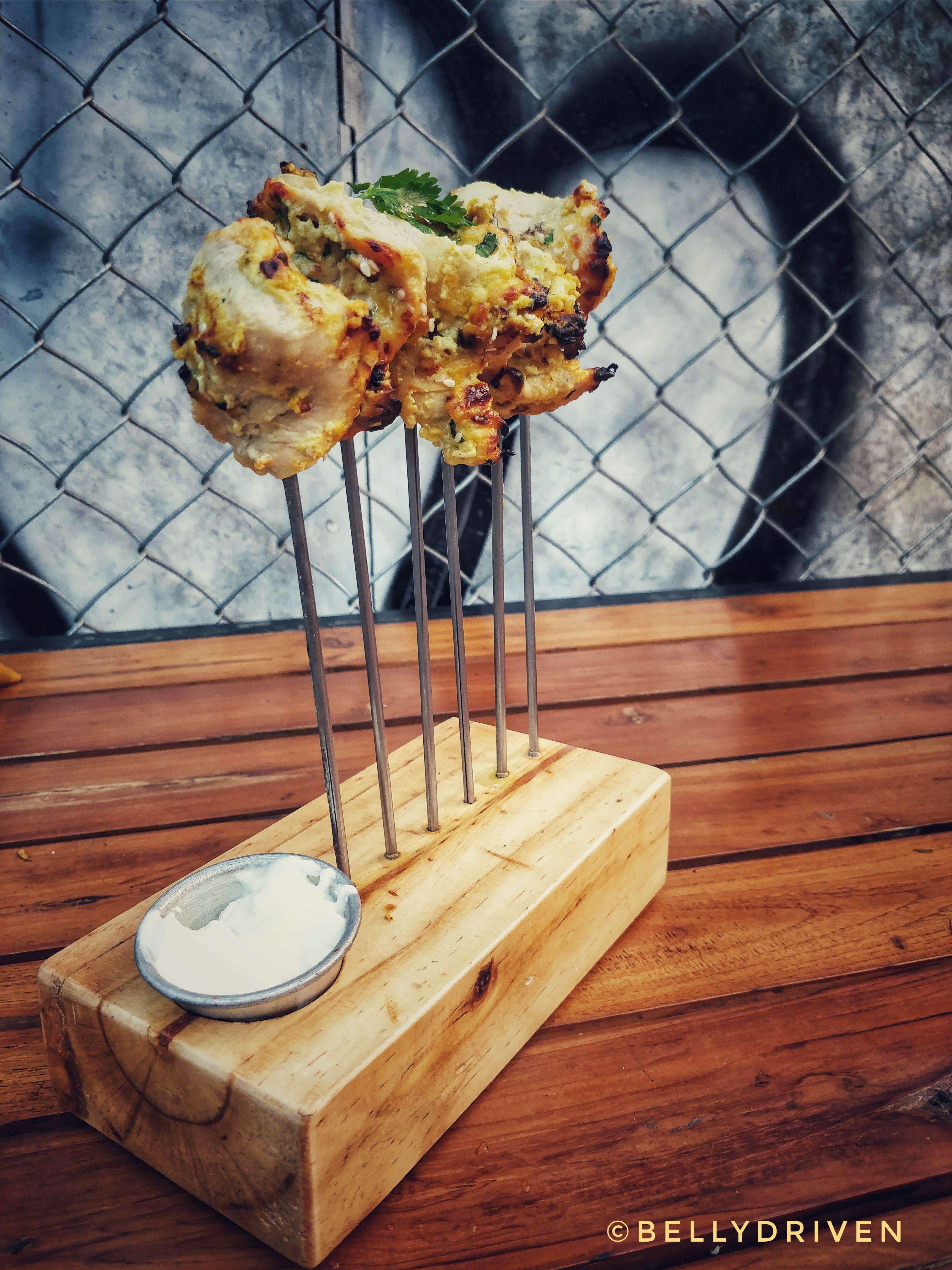 Lemongrass Chicken Tikka